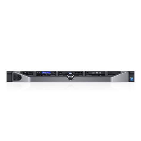 3 Server Dell R230 New Hotplug E3 1225v6 Rackmount 1u Single dell poweredge r230 e3 1230v5 8gb ram 1tb hdd h330 raid