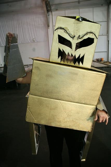 Halloweenstume  Ee  Ideas Ee   Using Recycled Materials