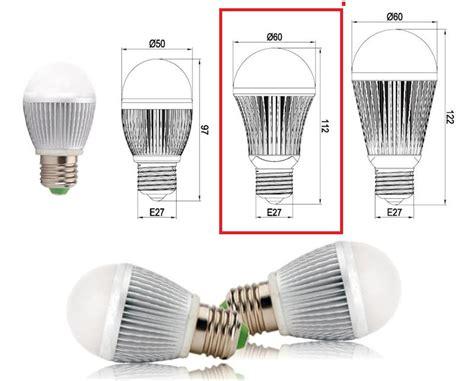 Led Light Bulb Sizes Led Light Candle Bulb E27 5w Warm White 3000k Color Temperature 220vac
