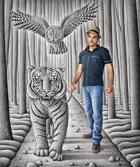 diego dinazor kurtarma resmi blog medioambiente org un increible dibujo 3d tigre