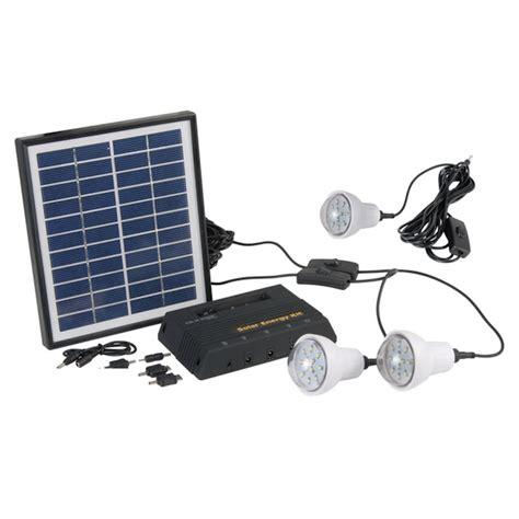 eclairage solaire led kit d eclairage solaire 4 w 3 les led kit eclairage
