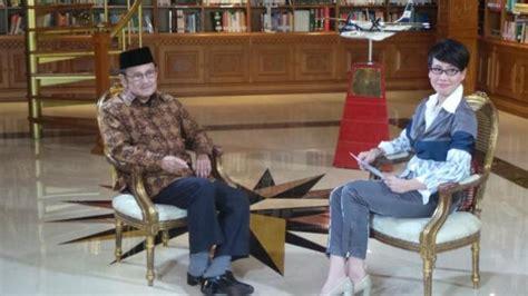 Wawancara Habibie habibie yakin parlemen tak bisa jatuhkan jokowi tribunnews