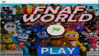Fnaf world game play it now at cool math games online