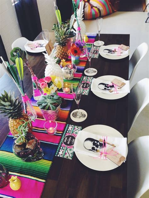 mexican dinner decorations best 25 mexican table setting ideas on