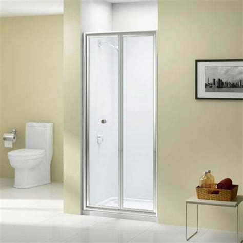 Shower Bi Fold Doors 700mm Merlyn Ionic Source Bi Fold Shower Door A1200a0 700mm Polished Clear