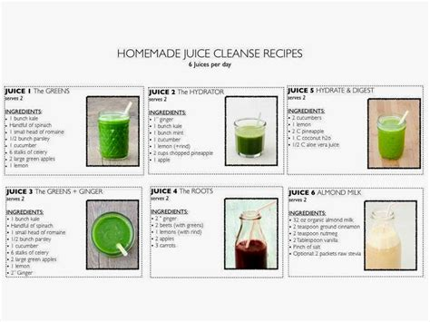 3 Days Detox Juice Diet Plan by The Juice Cleanse Diet