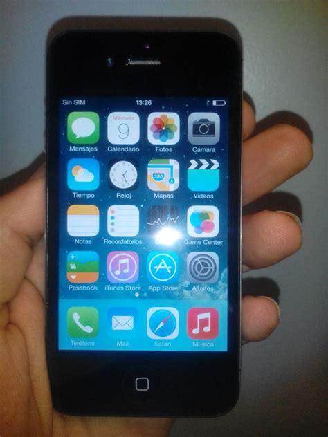 imagenes iphone 4 8gb vendo iphone 4s negro libre de origen impecable 8gb