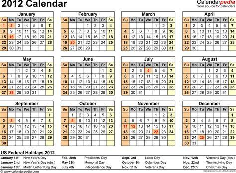 free pdf calendar template 2012 calendar pdf 10 free printable calendar templates