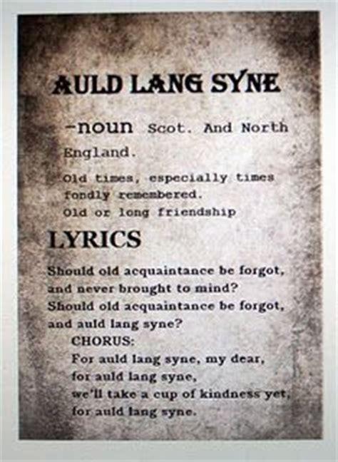 china doll lyrics meaning auld lang syne and a happy new year