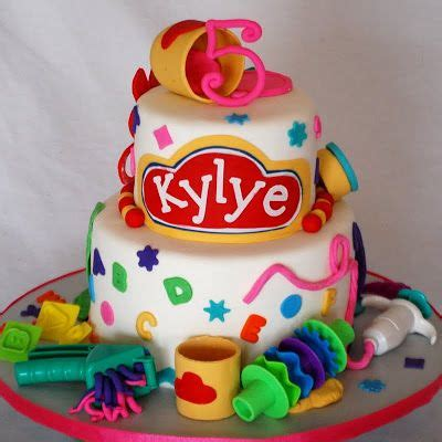 Doh Cake Decor lots of great gift ideas and things to make and do with play doh foods