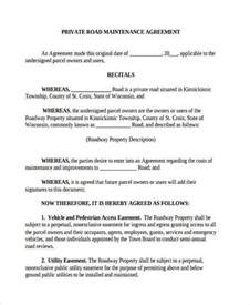 Property Maintenance Agreement by Doc Property Maintenance Agreement 10 Maintenance Contract Templates Free Word Pdf