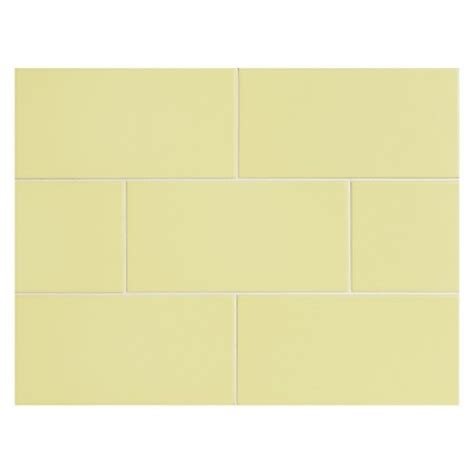 yellow subway tile vermeere ceramic tile yellow matte 3 quot x 6 quot subway tile