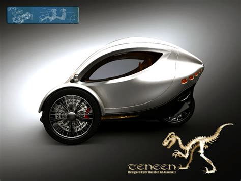 Two Seater Electric Car by Tennen Two Seat Electric Car By Hussien Al Jammazi Spicytec