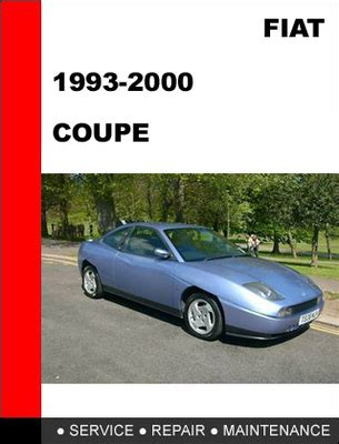 Are All Fiats Manual Fiat Coupe Workshop Service Repair Manual