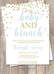 baby shower invitation baby shower brunch baby by trendyprintables part a ideas