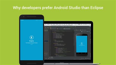 Why Android Studio by Why Developers Prefer Android Studio Than Eclipse