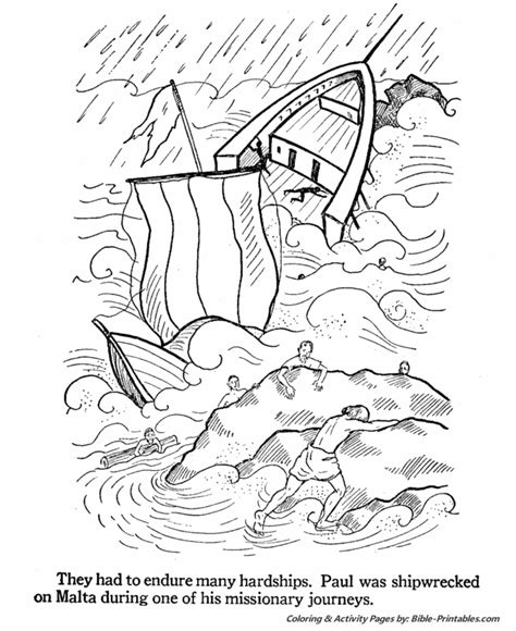 Kids Fun Kid And King On Pinterest Apostle Paul Coloring Page
