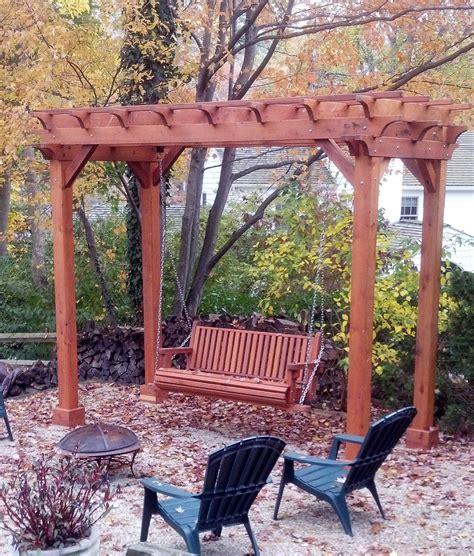 pagoda swing seat small pergola kits custom made wood garden pergola kits