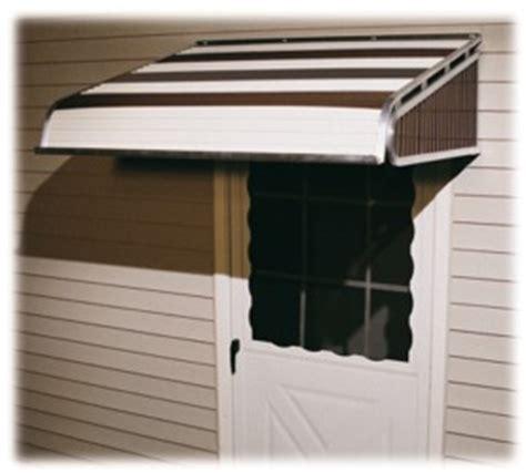 fabric aluminum door awnings in canada