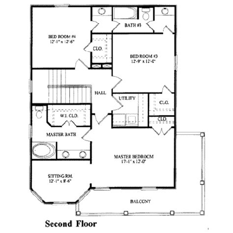 325 square feet southern style house plan 4 beds 3 baths 2269 sq ft plan