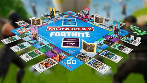 fortnite monopoly gear up fortnite nerf blasters and monopoly board are