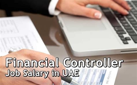 financial controller salary in dubai and uae