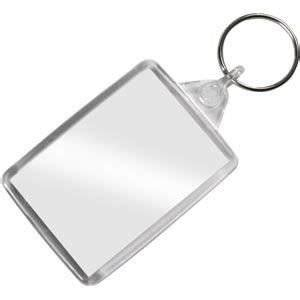 keychain card template insert your own passport blank photo keyring x 1 unit