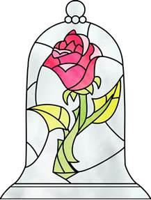 Mirror Mosaic Vase Disney Beauty And The Beast Enchanted Rose Globe Music Box