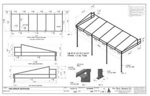 awning construction details shop drawing nuys awning california