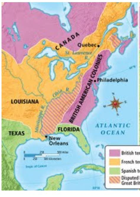 america map in 1754 outline map america 1754