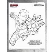 Disegni Da Colorare Degli Avengers Iron Man  Blogmammait
