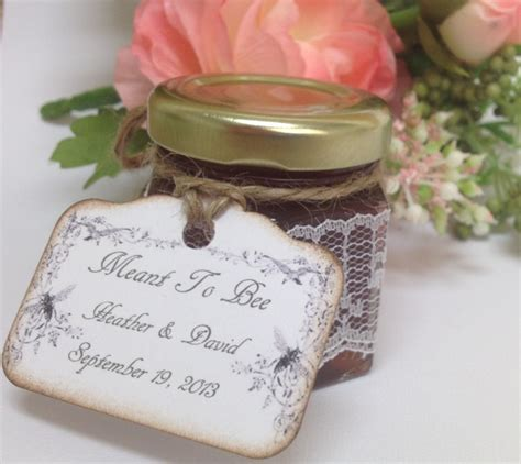Wedding Favors Honey Jars by Sweet Wedding Favors Lace Wrapped Honey Jars 24 Qty