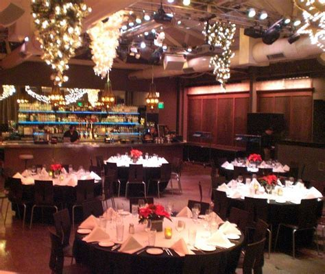 Our banquet hall, decorated for Christmas   Our Style