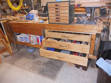 Building Drawers For A Workbench by Fresh Build Your Own Workbench With Drawers 25687