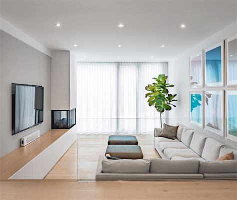 heres  sunken living rooms  perfect sense
