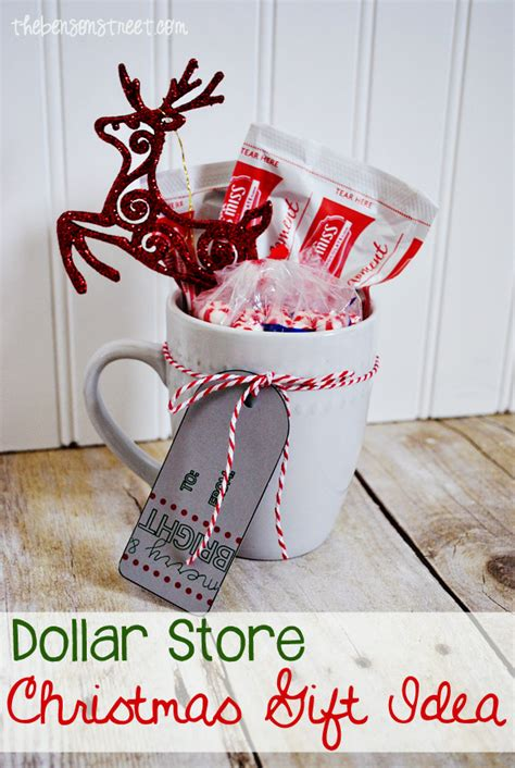 dollar store christmas gift idea the benson street