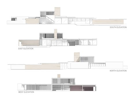 kaufmann house floor plan kaufmann desert house plan
