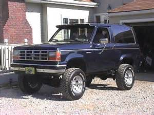 1990 Ford Bronco 2 Bluebroncotwo 1990 Ford Bronco Ii Specs Photos