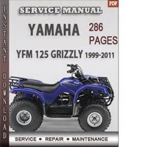 1999 yamaha grizzly repair manual motorcycle review and