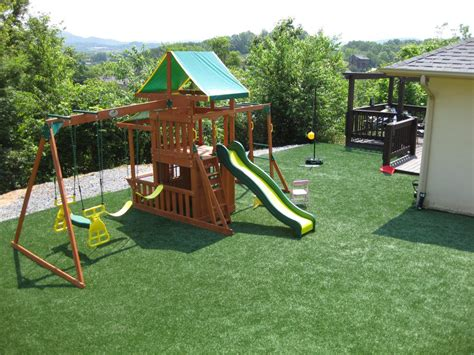 safest troline for backyard backyard playground surface in ground troline for the