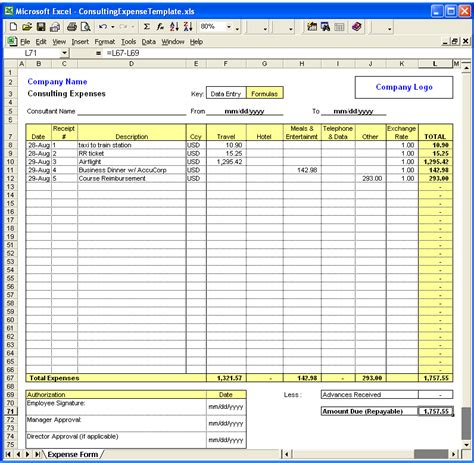 Excel Expense Template search results for calendar expense spreadsheet