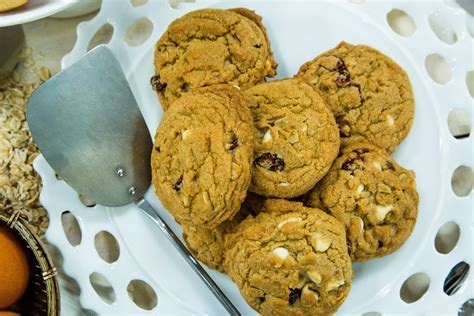 recipes white chocolate cranberry cookies home