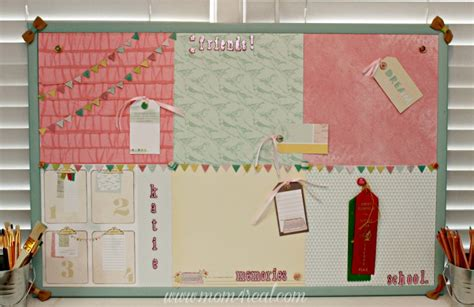 Decorating Cork Boards by Dress Up A Cork Bulletin Board W Dear Lizzy 5th Frolic 4 Real