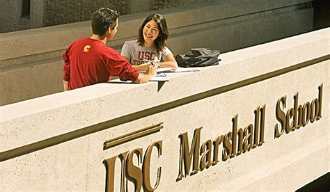 Usc Mba Program Admissions by Usc Marshall School Of Business