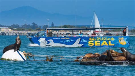 san diego boat bus tour san diego seal tours san diego duck tours
