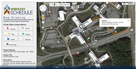 map drawing tool project management software for utility locators