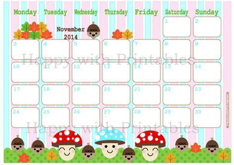 planner for november 2014 printable happywithprintables calendar november 2014 printable