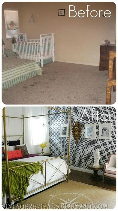 before and after bedrooms master bedroom before and after vintage revivals