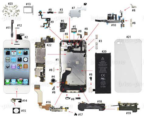 iphone 5s parts diagram tutoriels pour iphone 5c
