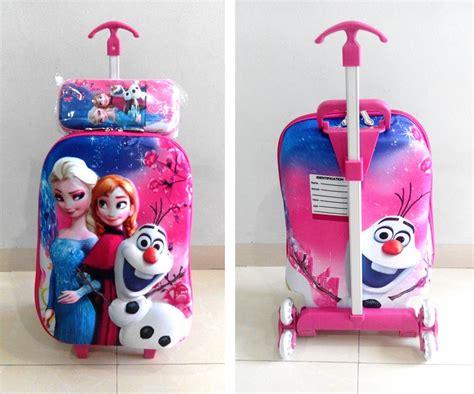 Tas Ransel Troli Anak Frozen Murah 8146 Murah katalog tas trolley troli 5d 3d grosirimpor